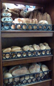 Il pane con le olive,i panini e i filoni